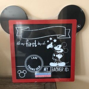 Disney Mickey Mouse my first Day of School frame